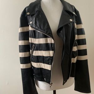 Reformation Veda Bad Leather Jacket